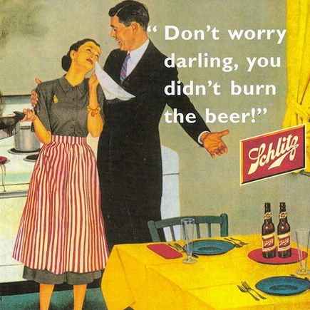 Beer: it's so easy, even a woman can make it!